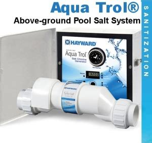blue essence salt chlorine generator aqua trol above ground aqua swimming pool supplies