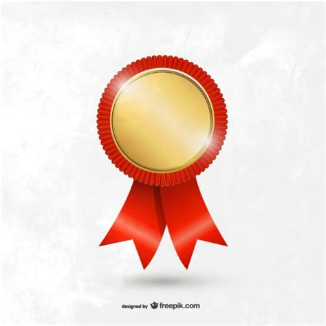 award badge template award medal template vector free