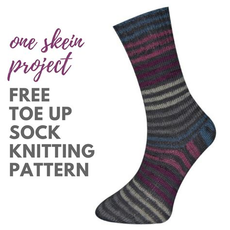 free pattern socks toe up basic toe up socks free knitting pattern blog nobleknits