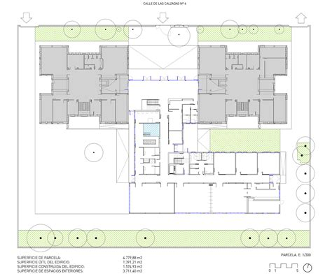 Special Floor Plans Gallery Of Extension Of The Fray Pedro Ponce De Leon