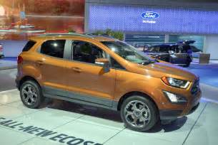 Ecosport Ford 2017 Ford Ecosport 4wd Unveiled At La Auto Show