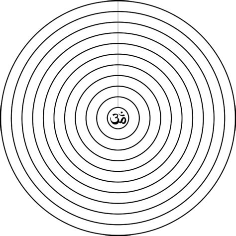 imagenes de mandalas con circulos mandala conc 233 ntrico 10 mandala para palabras o frases de