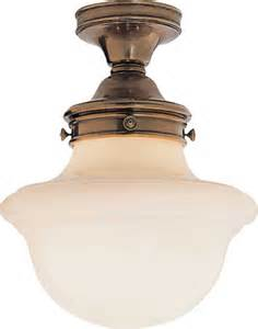 school house flush mount traditional flush mount