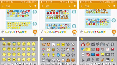iphone emoji font for android 6 ways to get iphone emojis on android root no root techwhoop