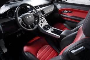 Range Rover Evoque Interior by Land Rover Range Rover Evoque Reviews Research New Used