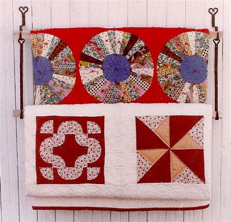 Wall Mounted Quilt Display Wall Quilt Displaystarter Pairblacksmith Hookswooden