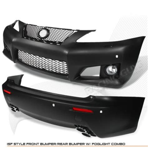 lexus is250 2006 2008 is f style front and rear bumpers