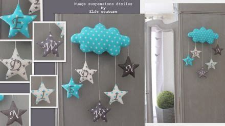 decoration chambre bebe etoile deco chambre bebe nuage etoile visuel 7