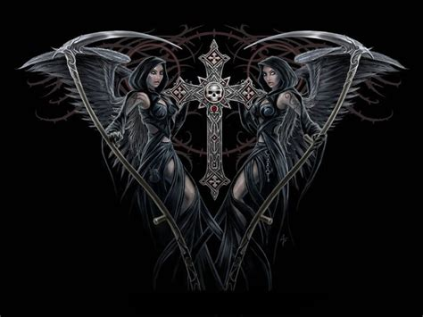 dark gothic windows  wallpaper themes gothic girls