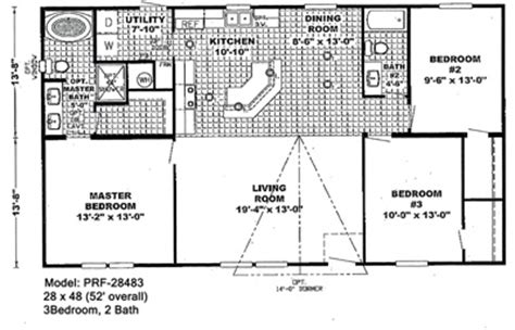small double wide mobile home floor plans double wide floorplans mccants mobile homes