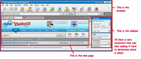 yahoo web browser sbc yahoo updates