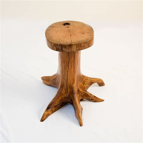 Tree Stump Nightstand Oak Tree Stump End Table