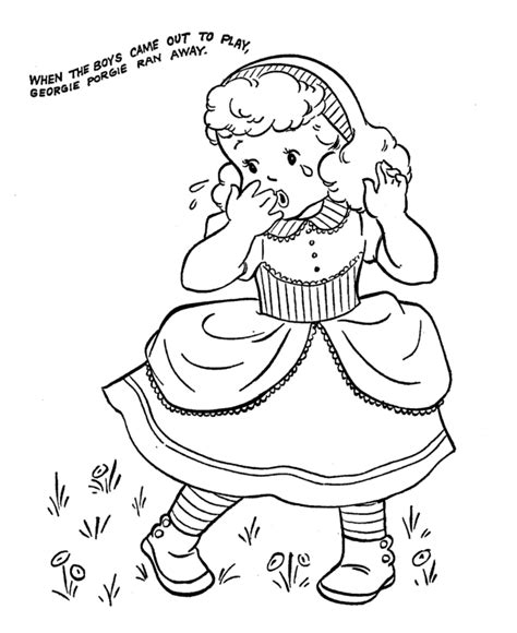 preschool coloring pages nursery rhymes nursery rhyme color pages az coloring pages