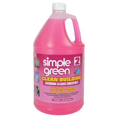 home bathroom cleaner simple green 1 gal clean building bathroom cleaner