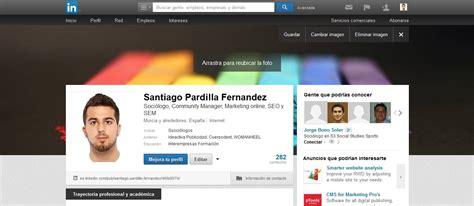 fotos para perfil linkedin linkedin permite portadas en perfiles personales