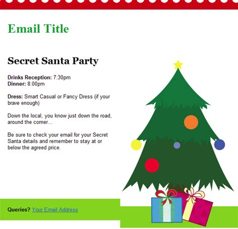 merry email template email templates included with groupmail