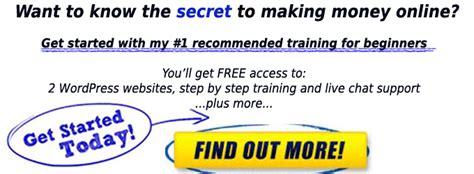 The Secret To Making Money Online - secret to making money online banner blue surviving