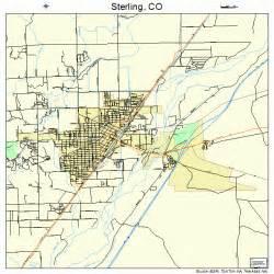 map of sterling colorado sterling colorado map 0873935