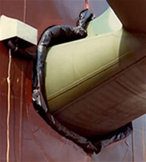 inflatable aircraft hanger door seal, bondor