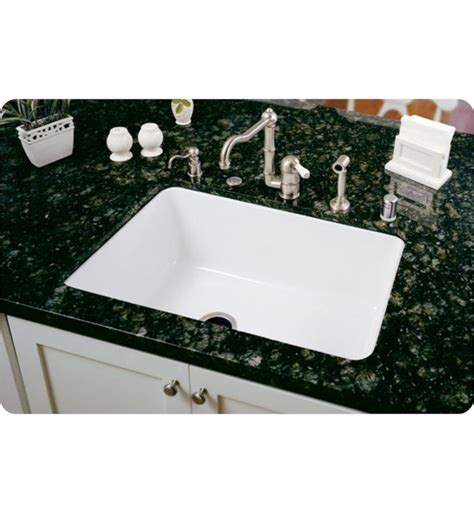 allia fireclay single bowl undermount kitchen sink rohl 6307 00 allia 31 5 8 quot single bowl undermount fireclay