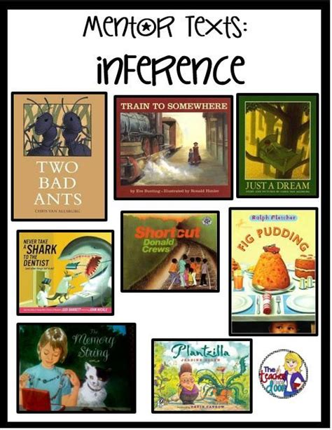 picture books to teach inferencing 130 best images about read alouds and mentor texts for