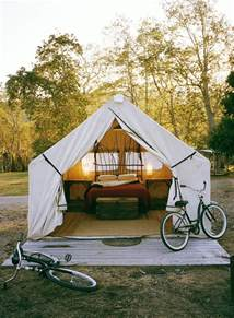 Camping Tent Decorations Anyone Can Decorate Glamping Putting A Bit Of Glamour