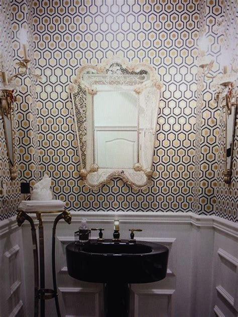 powder room hicks hexagon 953016 by walnut wallpaper