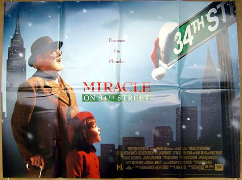 3 Miracle Tri Miracle Hwi Original miracle on 34th 1994 original poster richard attenborough ebay