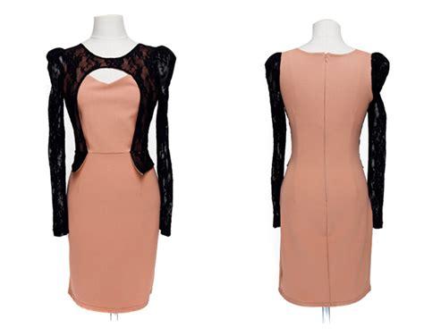 Dress Dress Korea Baju Korea 122 dress korea brokat cantik model terbaru jual murah