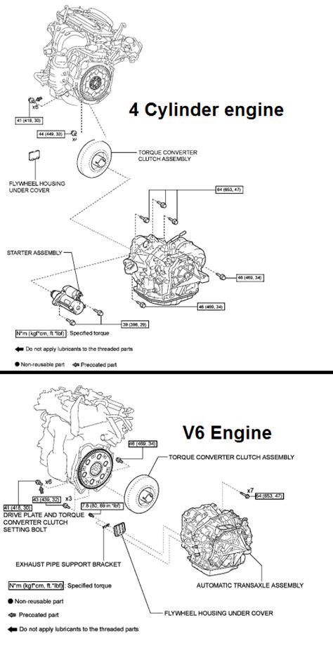 buy car manuals 2011 nissan altima transmission control 2008 nissan altima torque converter removal service manual remove 2008 nissan versa torque