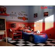 Race Car Room  Puzzle Foam Floor Mats SoftTiles