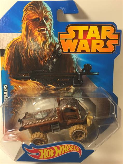 Diecast Wheels Characters Wars Chewbacca models wheels chewbacca 2015 wheels wars character cars brown carded