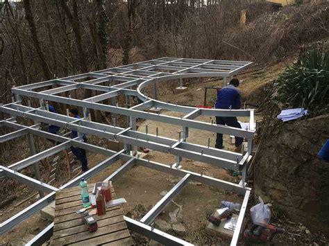 terrasse stahl stahlterrasse metallbau gruner