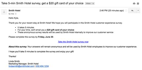 How To Compose A Great Survey Invitation Email Template Rybbon Survey Email Template