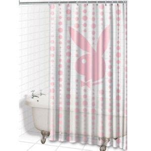 playboy shower curtain playboy bunny playboy and shower curtains on pinterest