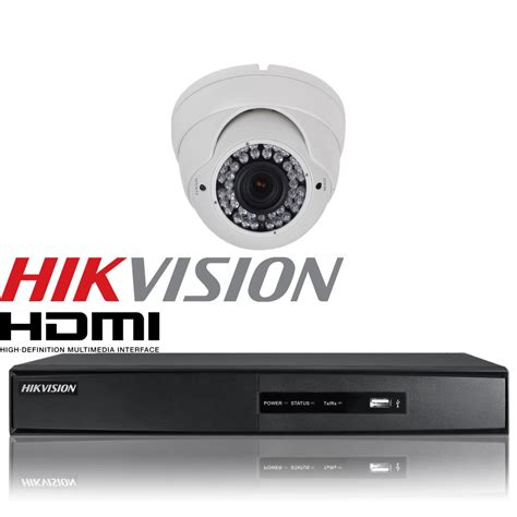 Flashsale Paket Cctv 4ch Hikvision 2 0 Mp 1080p Hd Komplit 1 security 1080p 2 4mp dome varifocal dvr 4 channel