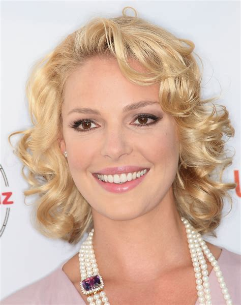 The Many Faces Of Katherine Heigl by Katherine Heigl Hairstyles For Oval Faces Stylebistro