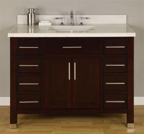 42 bathroom vanity without top