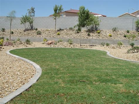Landscape Edging Las Vegas Additional Landscaping Services Curbing Las Vegas
