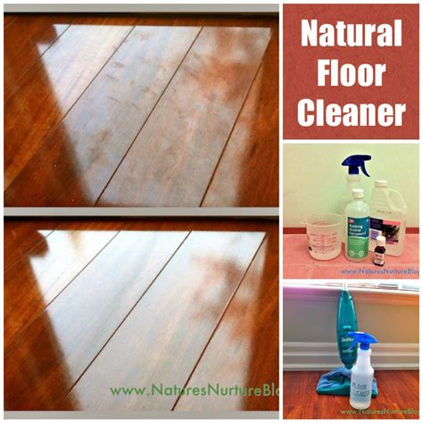 clean your floors with a cleaner diy