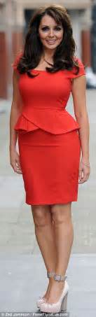 how should a 58 year old woman dress age is just a number for carol vorderman the loose women