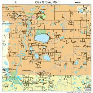 oak grove minnesota map 2747690