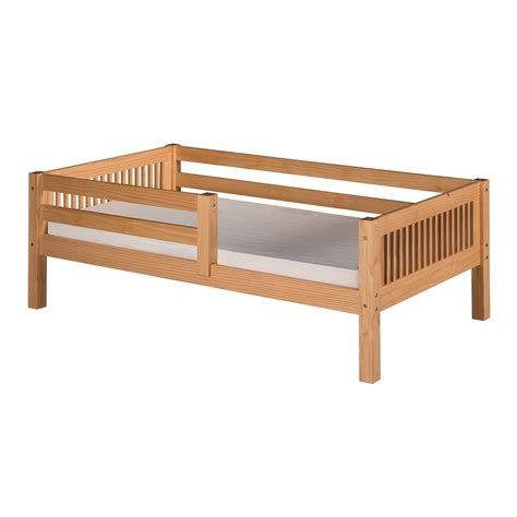 Camaflexi C31 Twin Day Bed With Front Guard Rail And Guard Rails For Beds
