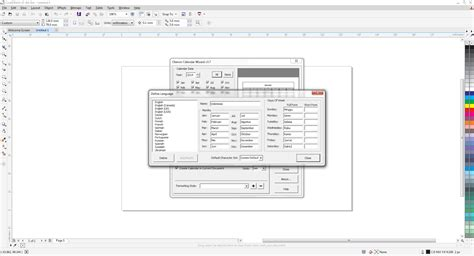 tutorial gambar corel draw tutorial membuat kalender dengan coreldraw x7 coreldraw