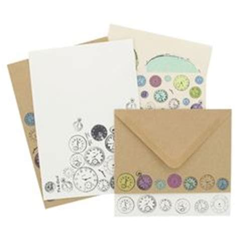 paperchase writing paper stop collection on kraft paper