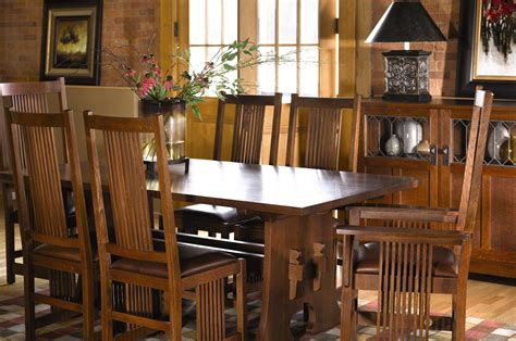 stickley furniture dining room tables stickley dining traditions at home