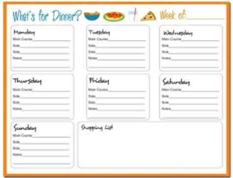 blank meal planner app weekly meal planner free printable 24 7 moms