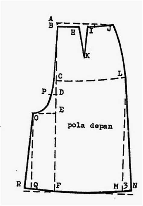 cara membuat pola dasar kulot danitailor