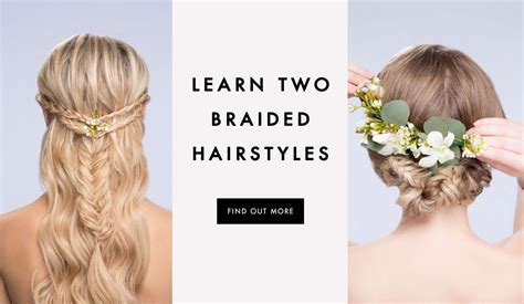 Easy Hairstyles For To Learn diy wedding hairstyles learn how to style two looks