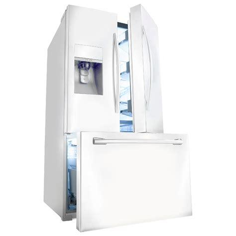 Door Refrigerator White by Samsung Rf323tedbww 32 Cu Ft Door
